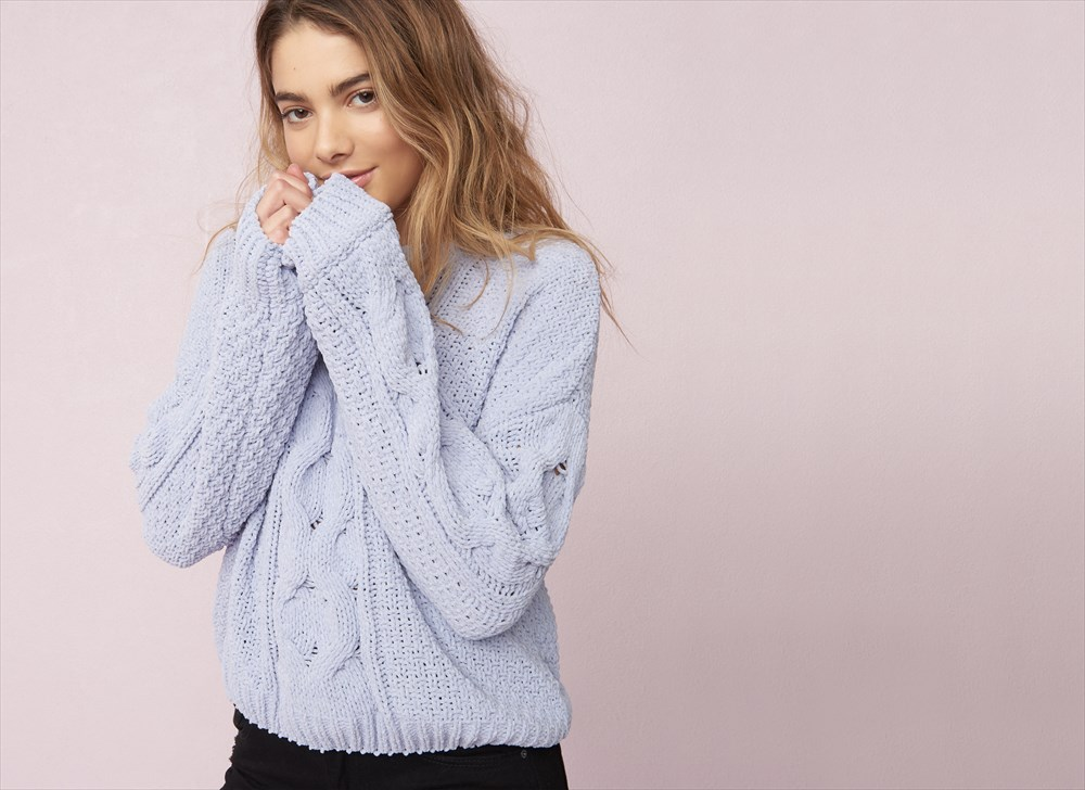 cable knit cardigan plush cable knit sweater icezbzw