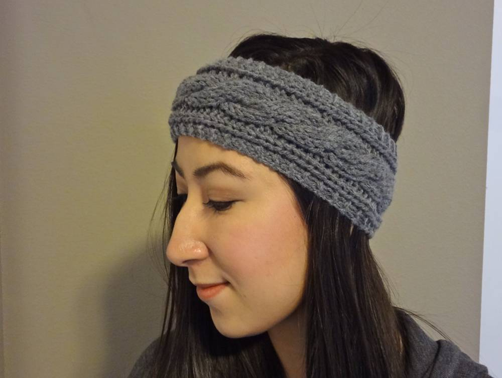 cable knit headband hlpeeym