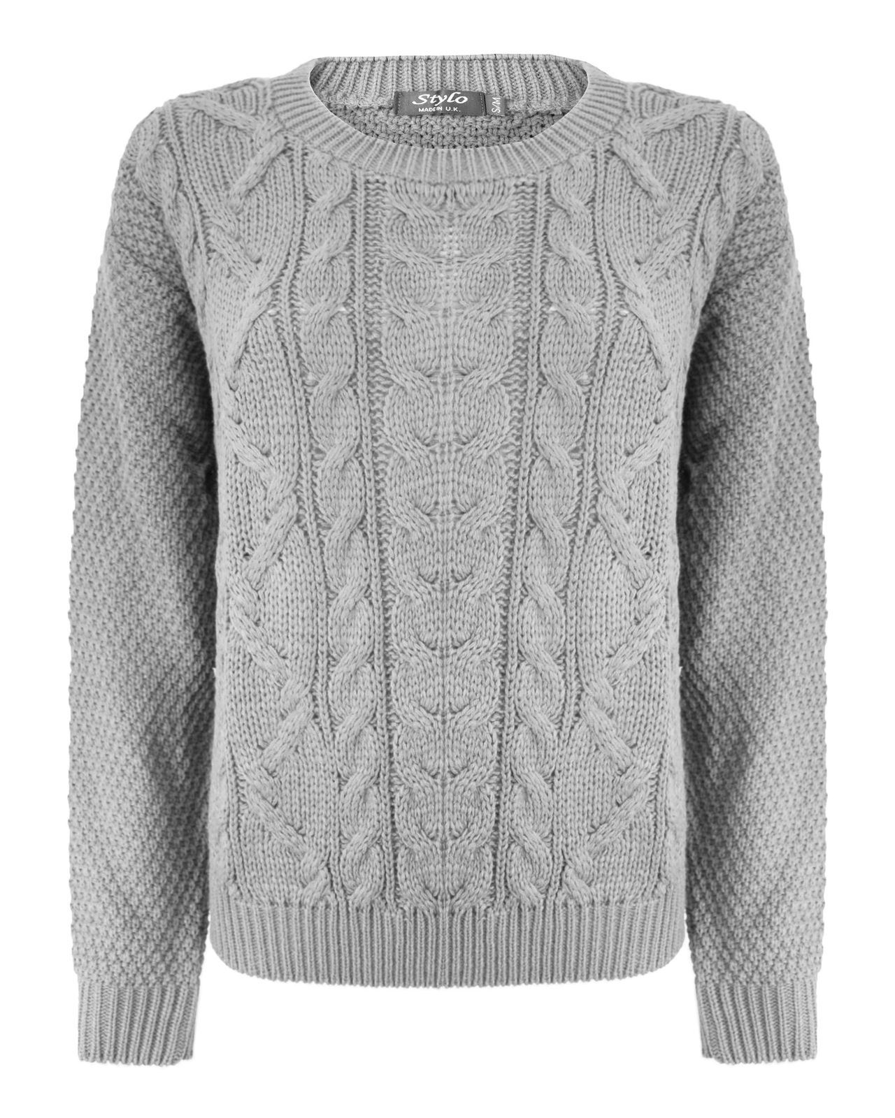 cable knit jumper ladies-women-knitted-long-sleeve-cable-knit-jumper- bfdiggn