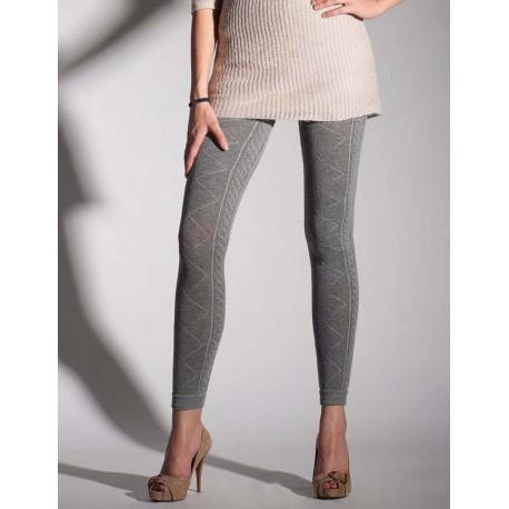 cable knit leggings 2228 by primavera dkgjefn