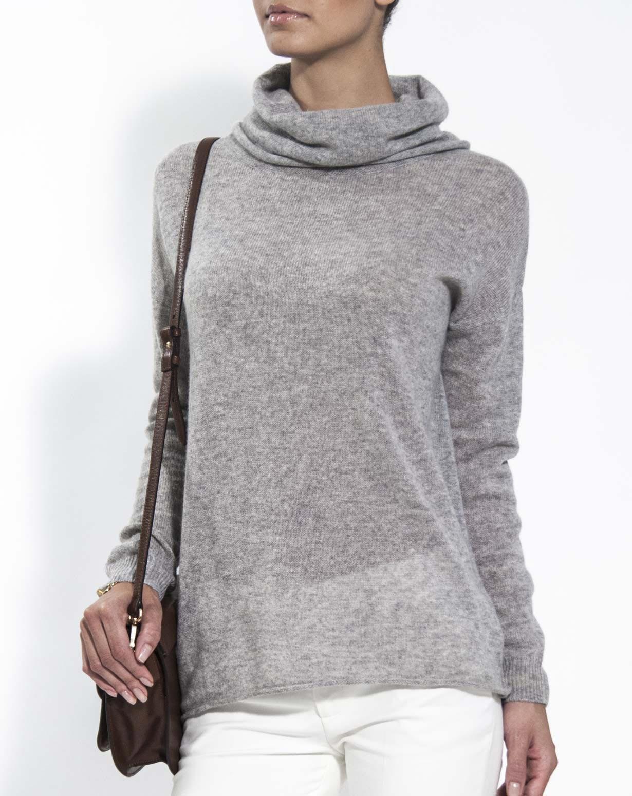 cashmere jumpers ladiesu0027 oversized cashmere cowl neck jumper lzhhxzp