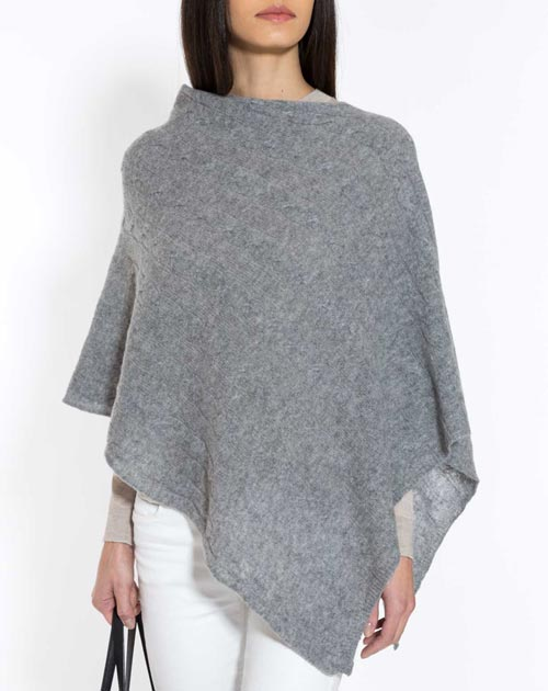 Cashmere poncho pure cashmere cable knit poncho ... aawdshe