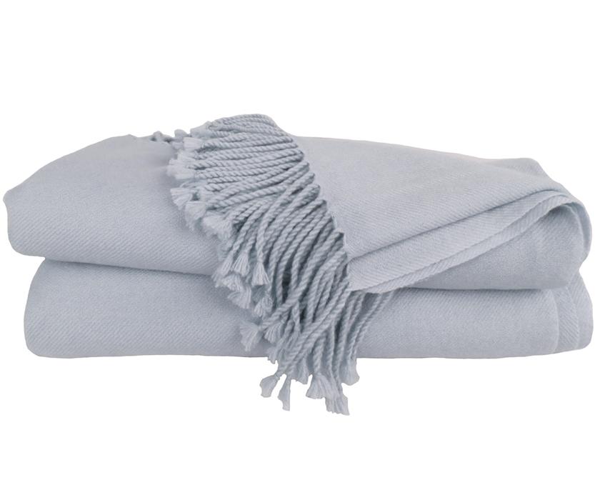 cashmere throw blanket silver grey cigmbgi