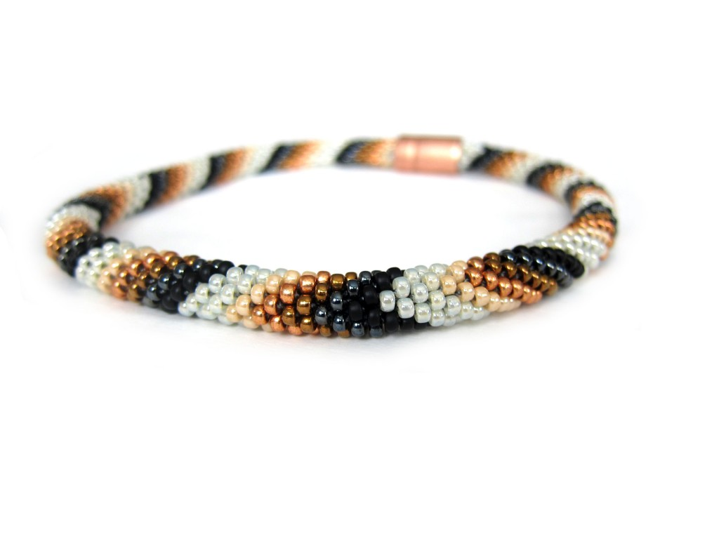 chevron bead crochet necklace dpieeac