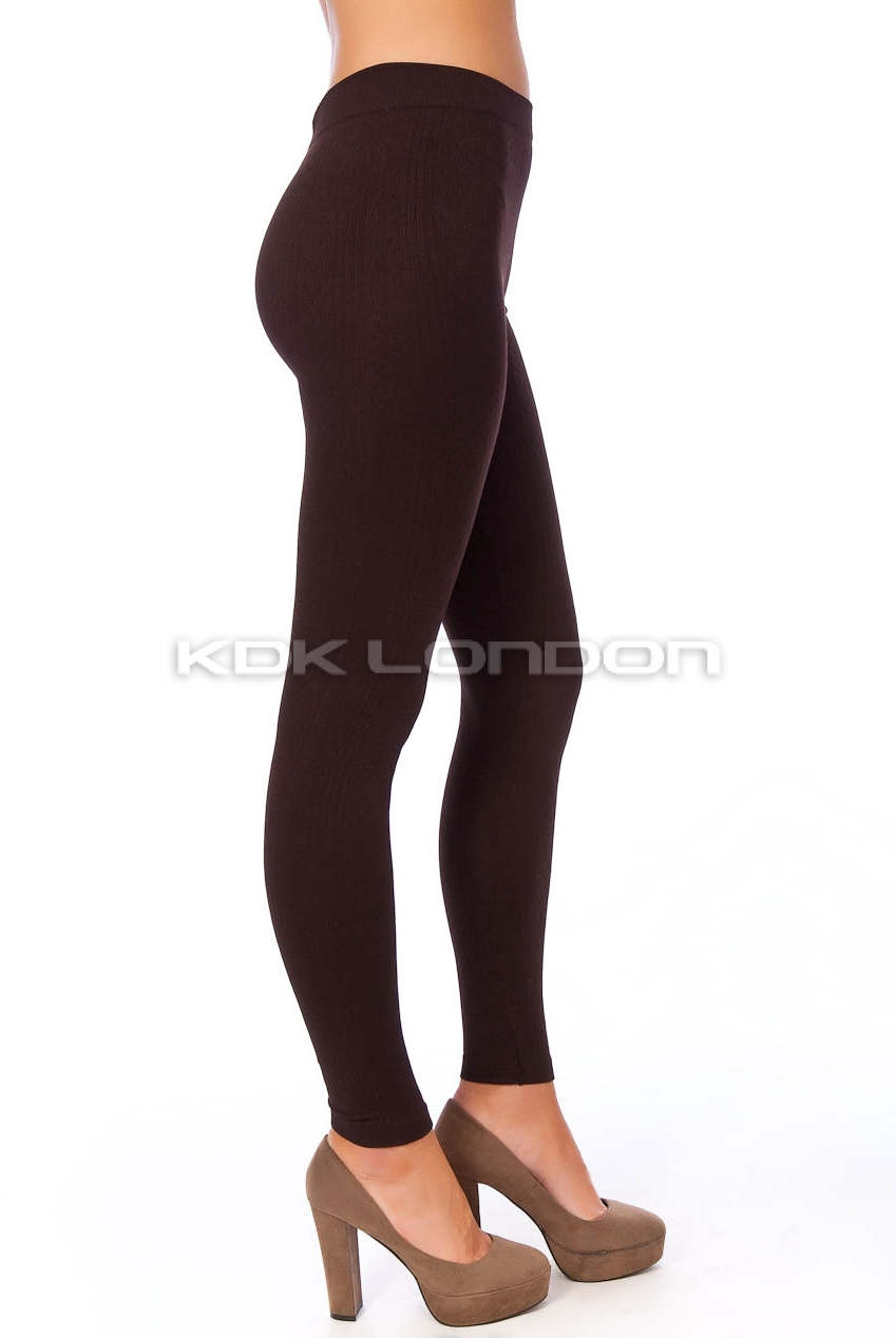 chocolate fleece lined thermal cable knit leggings krswjsd