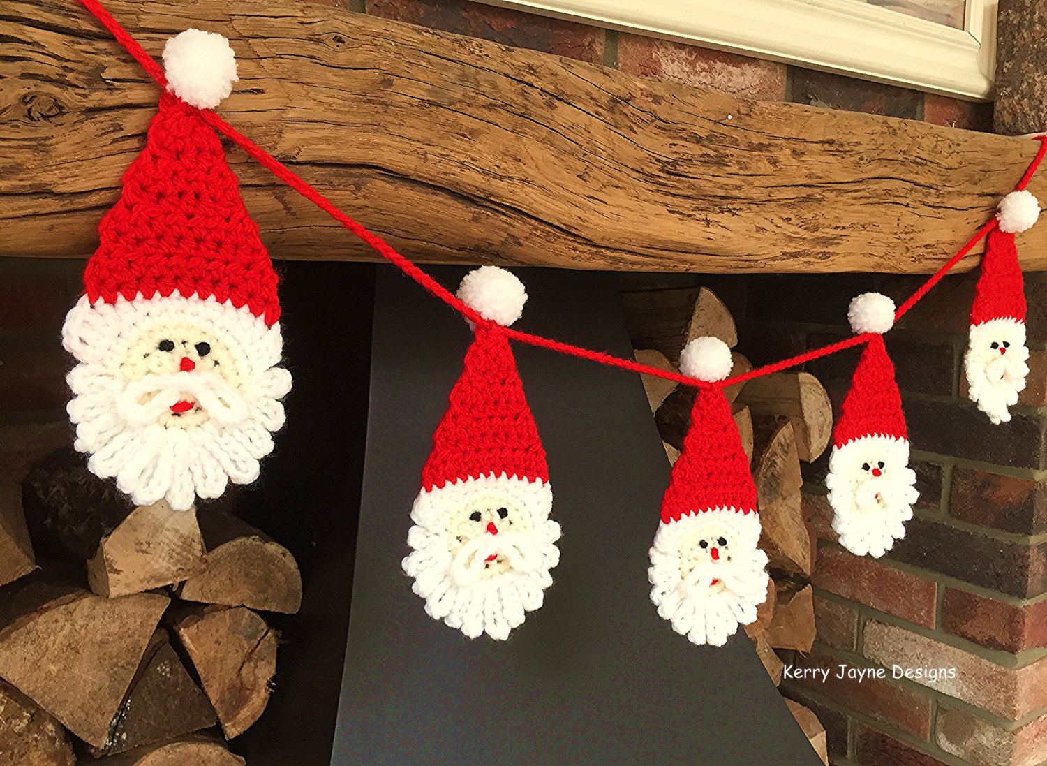 Santa Face Crochet Pattern Topsimages