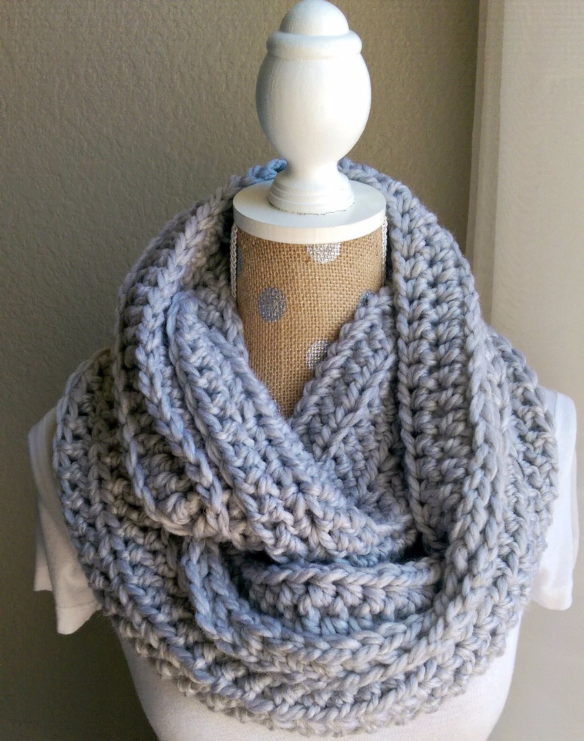 chunky crochet scarf pattern | the snugglery | a place for yarn lovers sewelbc