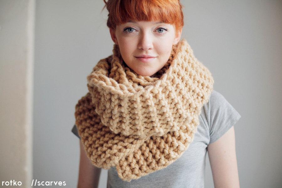 chunky knit scarf 🔎zoom jpfjwpw