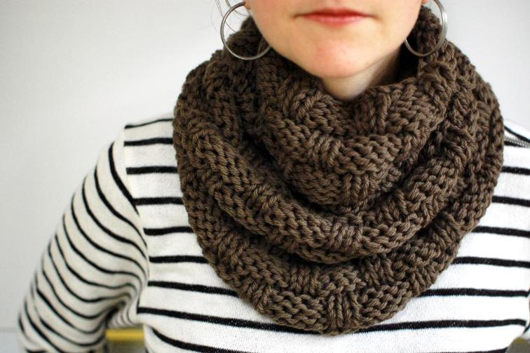 chunky knit scarf chunky basket weave infinity scarf pattern ecroylu