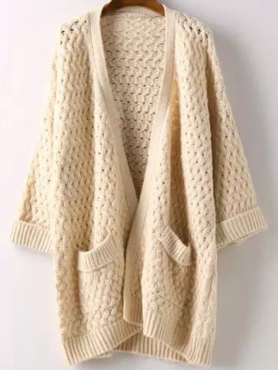 cia chunky knit cardigan - outfit made jggzbqz