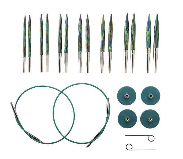 Circular Knitting Needles options short interchangeable caspian circular knitting needle set vagtryd