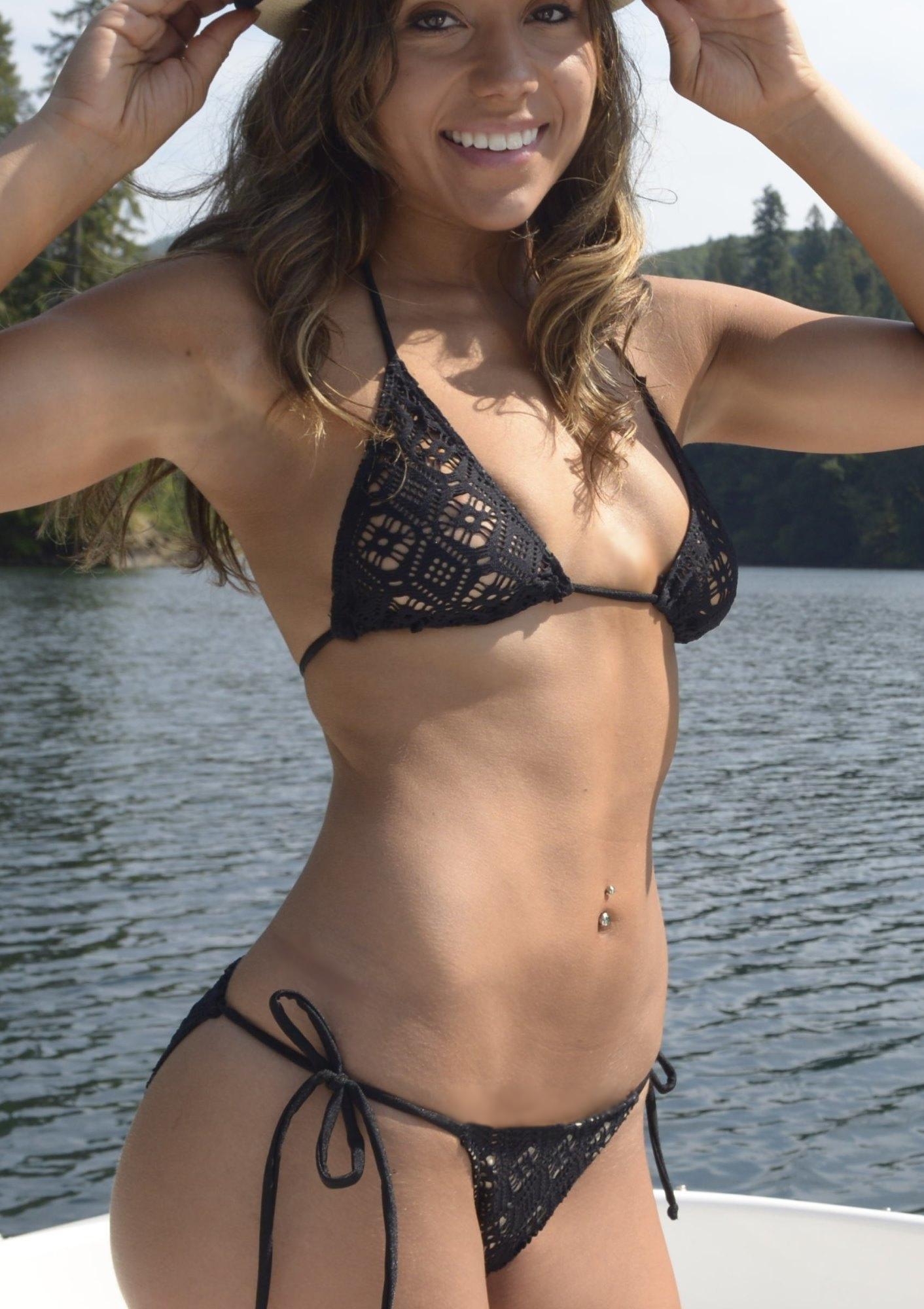 closeup crochet bikini swimsuit osdprqf