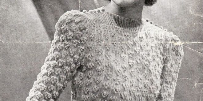 The Appeal Of Vintage Knitting Patterns Thefashiontamer