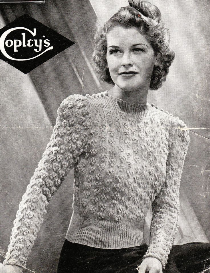 The Appeal Of Vintage Knitting Patterns – thefashiontamer.com