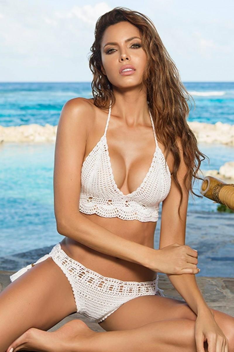 cosita linda guadalupe halter crochet bikini | bikinisonline.eu fncakjv