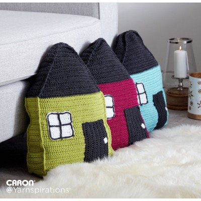 cozy cottage crochet pillow xjsirut