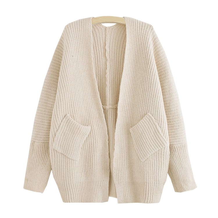 creamy white v neck bat sleeve knit cardigan 15cd00001-1 fxzrzzj