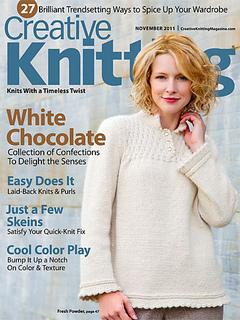 Creative Knitting Patterns patterns u003e creative knitting u003e creative knitting, november 2011 vpdmbgz