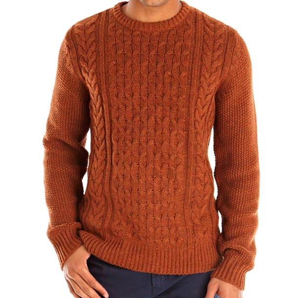 crew cable knit jumper xonwbpm