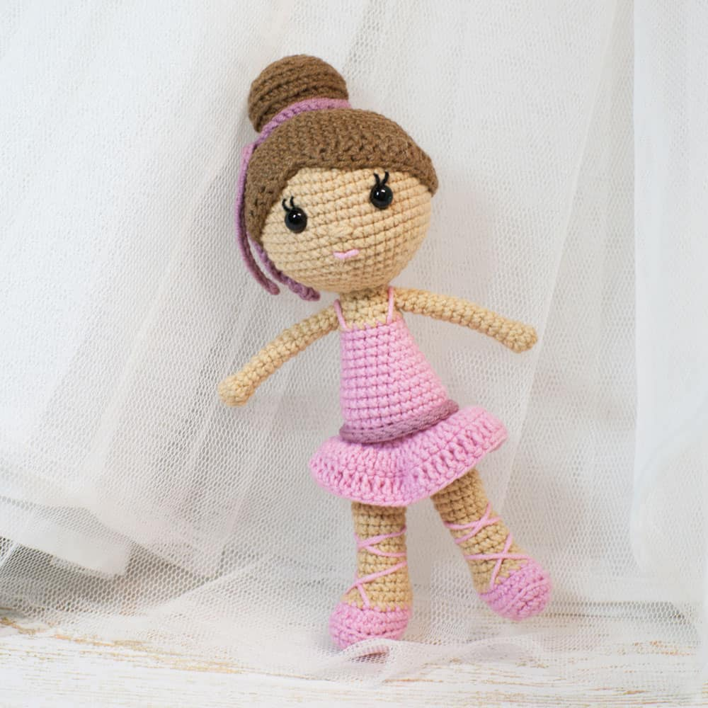 crochet amigurumi amigurumi ballerina doll - free crochet pattern by amigurumi today yroplfo