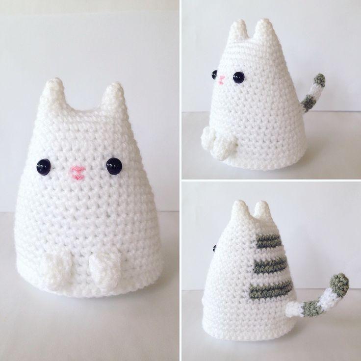 crochet amigurumi amigurumi cat - free crochet pattern / tutorial slwiwmk