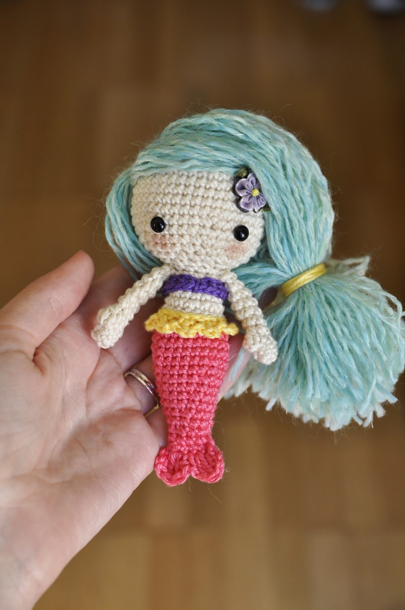 crochet amigurumi mermaid hhzzswd
