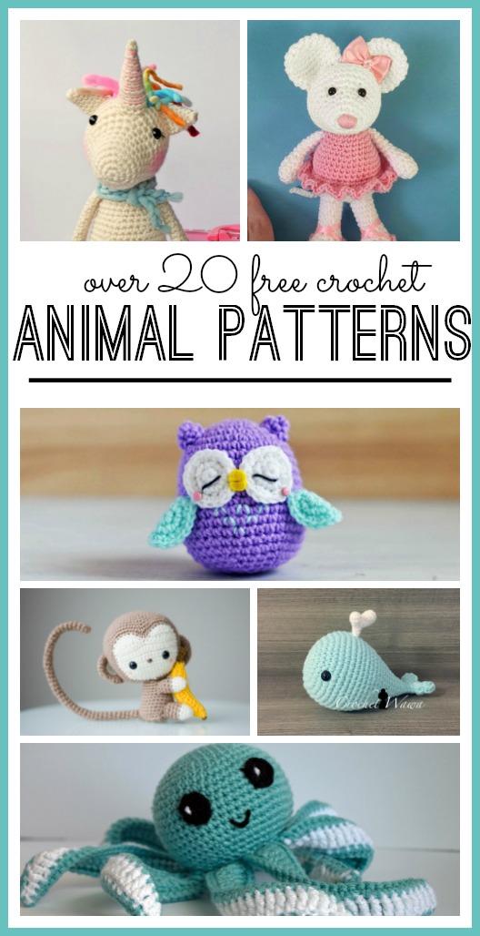 crochet animals bmlmram