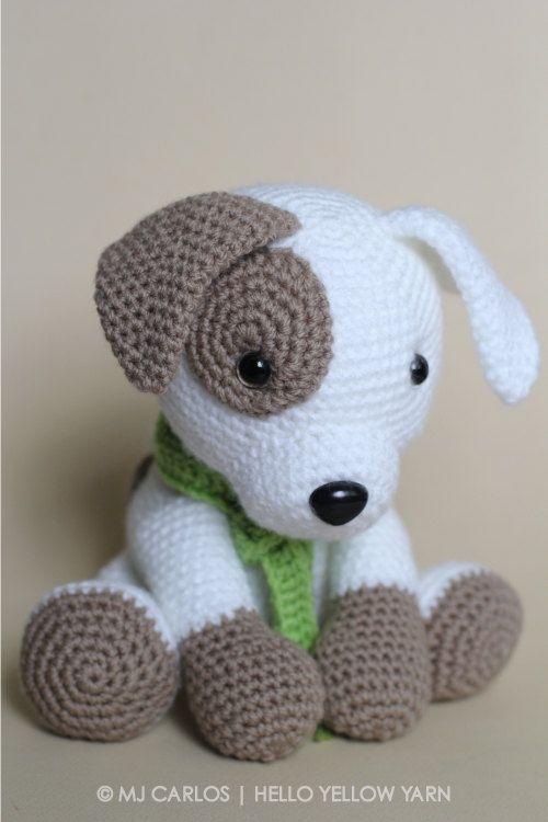 crochet animals crochet amigurumi puppy dog pattern only jack by helloyellowyarn aghgnff