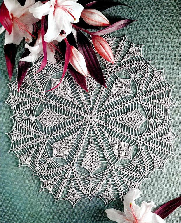 Crochet art crochet pattern of nice lace doily vhpqrxq