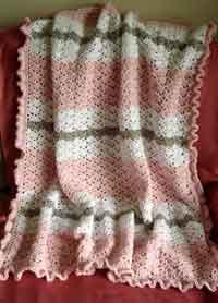 Crochet Baby Blanket Patterns rippled security blanket crochet pattern. snapdragon stitch baby blanket doqxigd