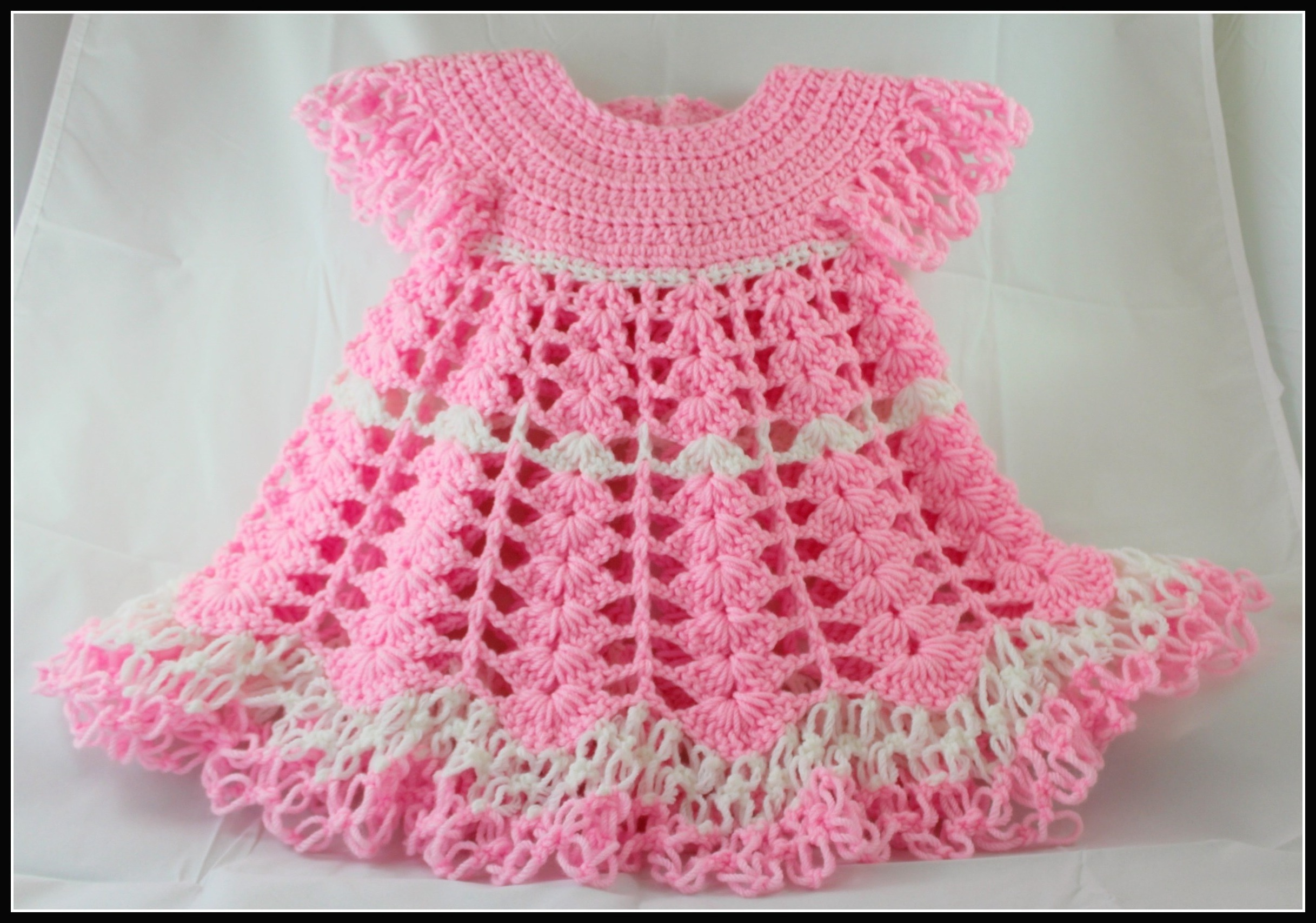 crochet baby dress by yolanda soto-lopez eebfhlm
