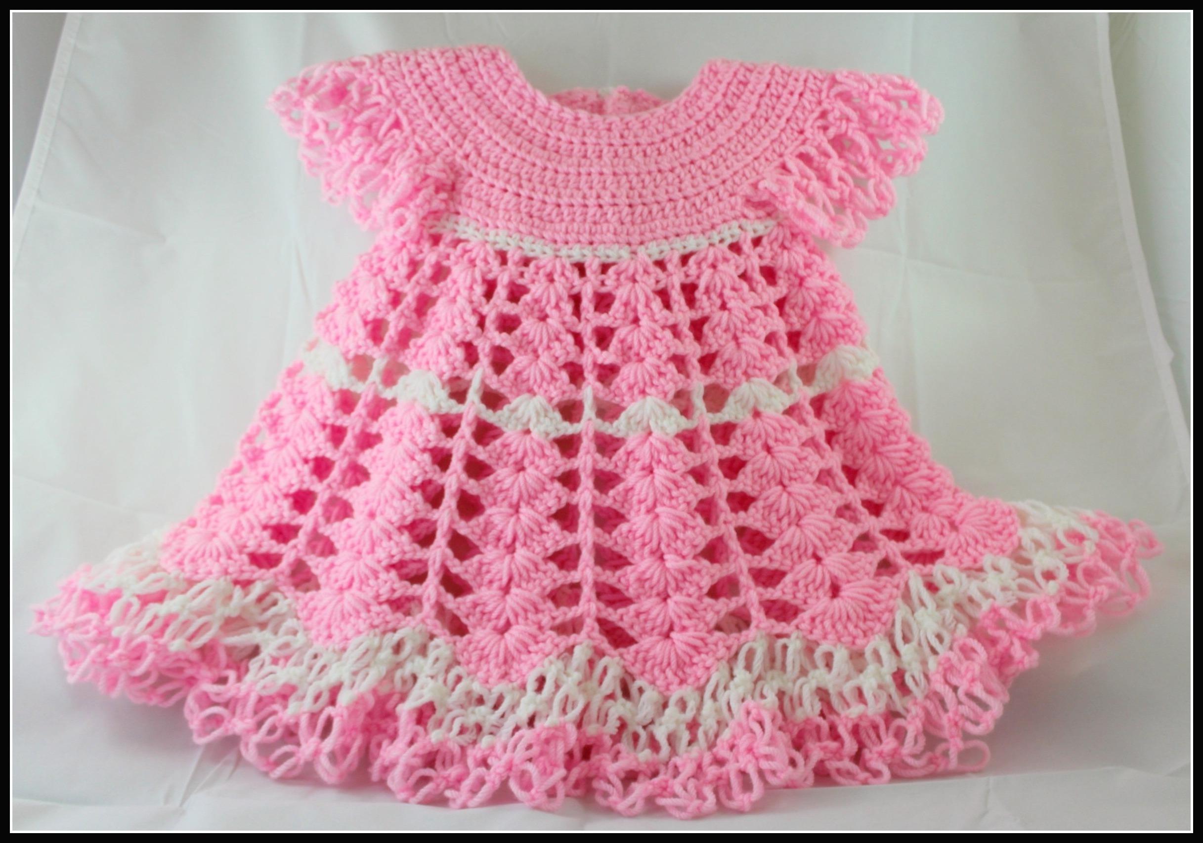 crochet baby dress by yolanda soto-lopez eebfhlm