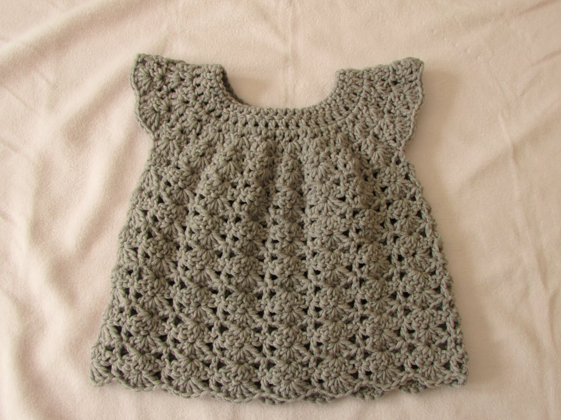 crochet baby dress how to crochet an easy shell stitch baby / girlu0027s dress for beginners semuzfg