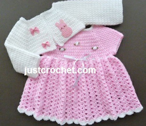 Your Baby Will Look In The Crochet Baby Dress Pattern