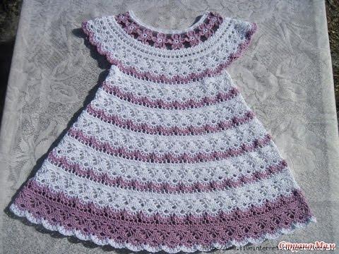 Crochet Baby Dress Pattern crochet patterns| for free |crochet baby dress| 569 obcojdi