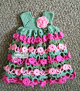 crochet baby dress supermom crochet prmftuz