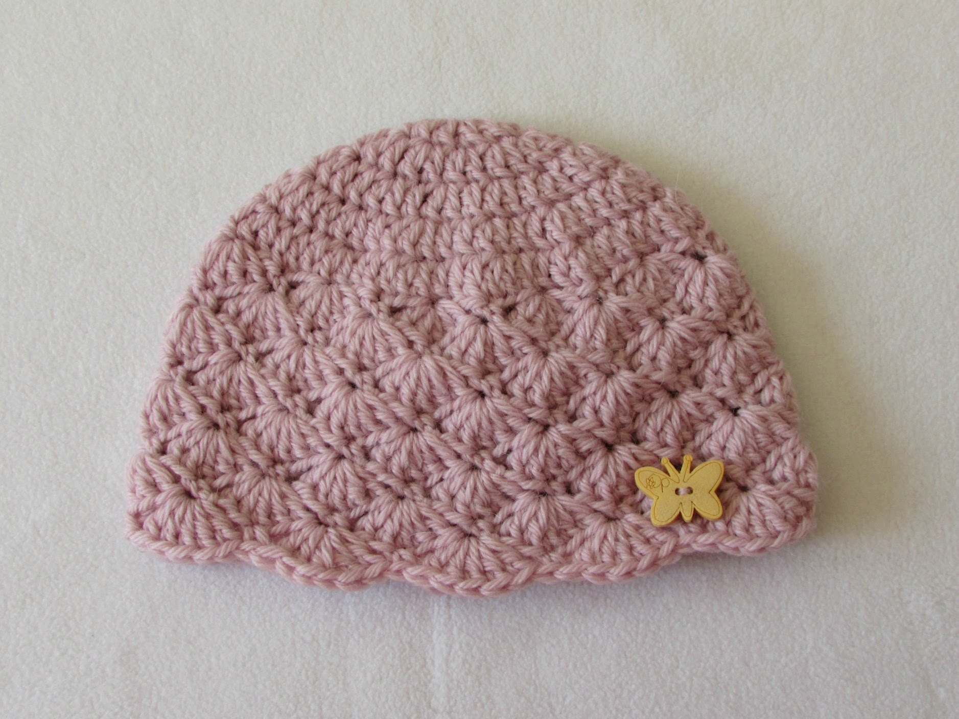 crochet baby hats how to crochet a cute baby girlu0027s hat for beginners - youtube intzxkf