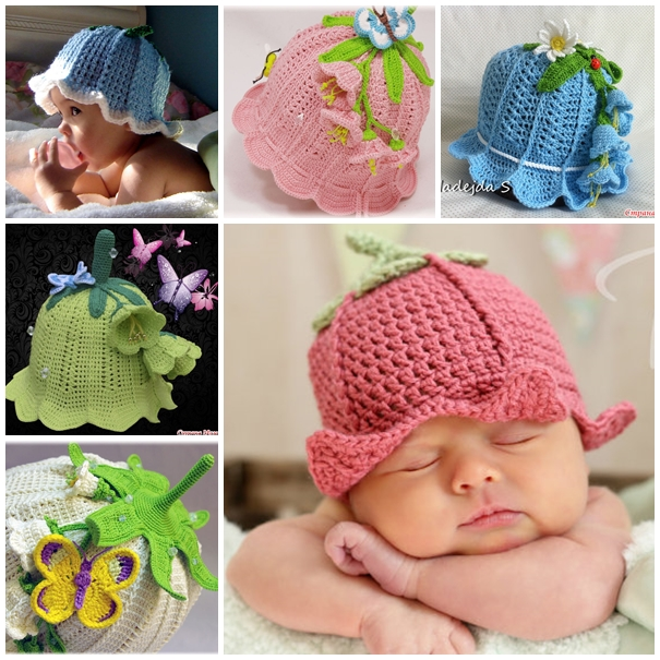 crochet baby hats wonderful diy adorable crochet baby bluebell hat nvazjsp