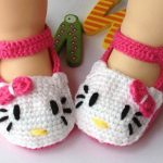 Crochet baby shoes for Small Babies