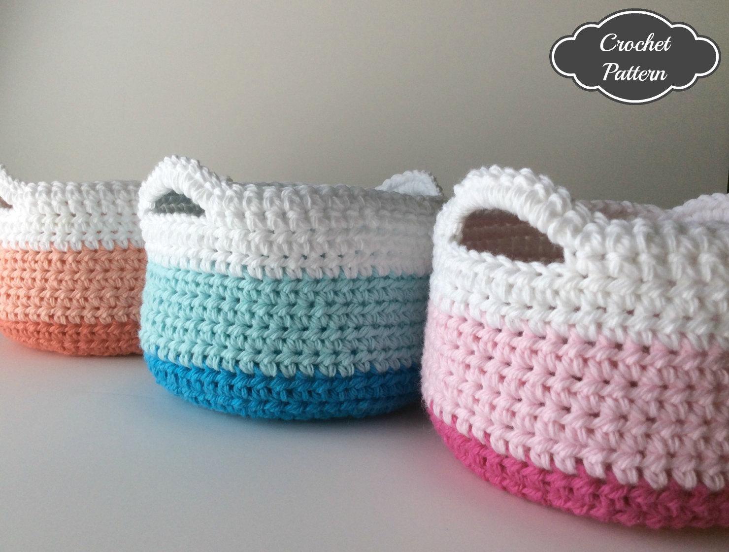 crochet basket pattern 🔎zoom vocjzdf
