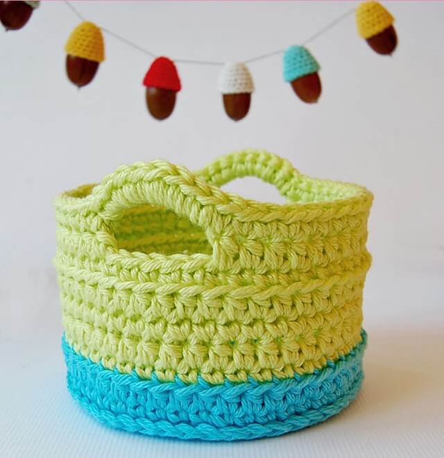 crochet basket pattern crochet basket with handles free pattern icjnwuz
