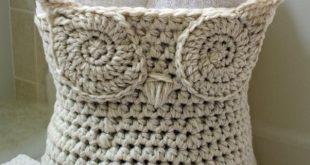 crochet basket pattern crochet owl basket pattern ugnkwbx