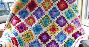 crochet blanket colourful granny rainbow crochet baby blanket ygkdlug