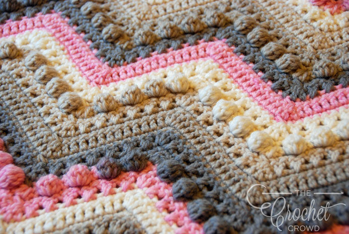 crochet blanket ... crochet hugs u0026 kisses baby