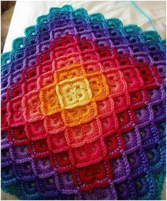 crochet blankets bavarian crochet stitch free patterns (tutorial) llibvbo