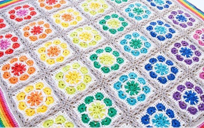 crochet blankets magic rainbow crochet baby blanket | allfreecrochetafghanpatterns.com qaoxbzl