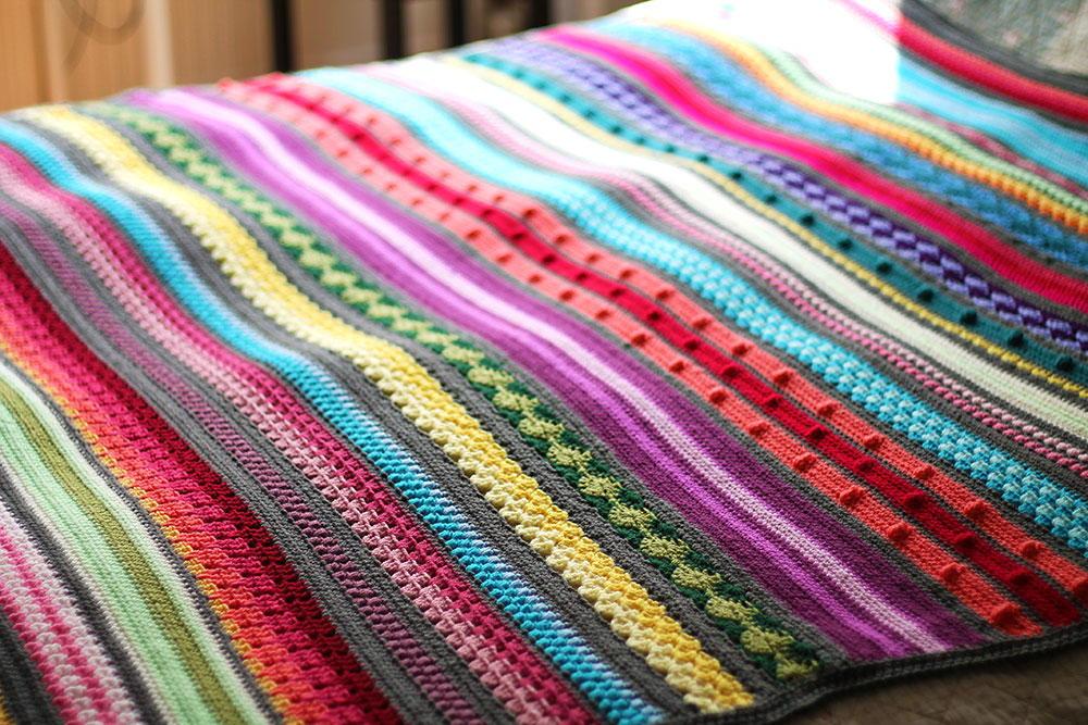 A Few Ways Of Making Crochet Blankets