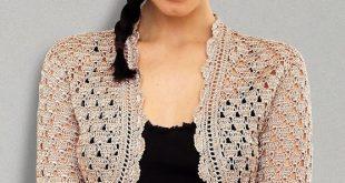 crochet bolero mypicot | free crochet patterns apawews