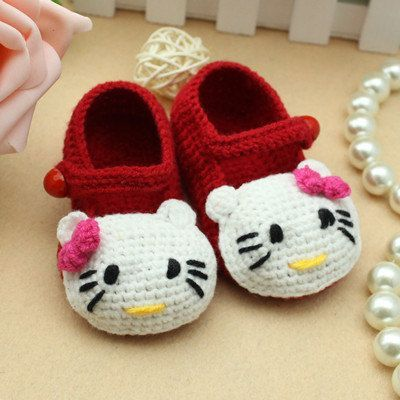 crochet booties ... 40+ adorable and free crochet baby booties patterns --u003e hello kitty crochet muqlavv