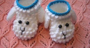 crochet booties crochet lamb booties wtwbuqz